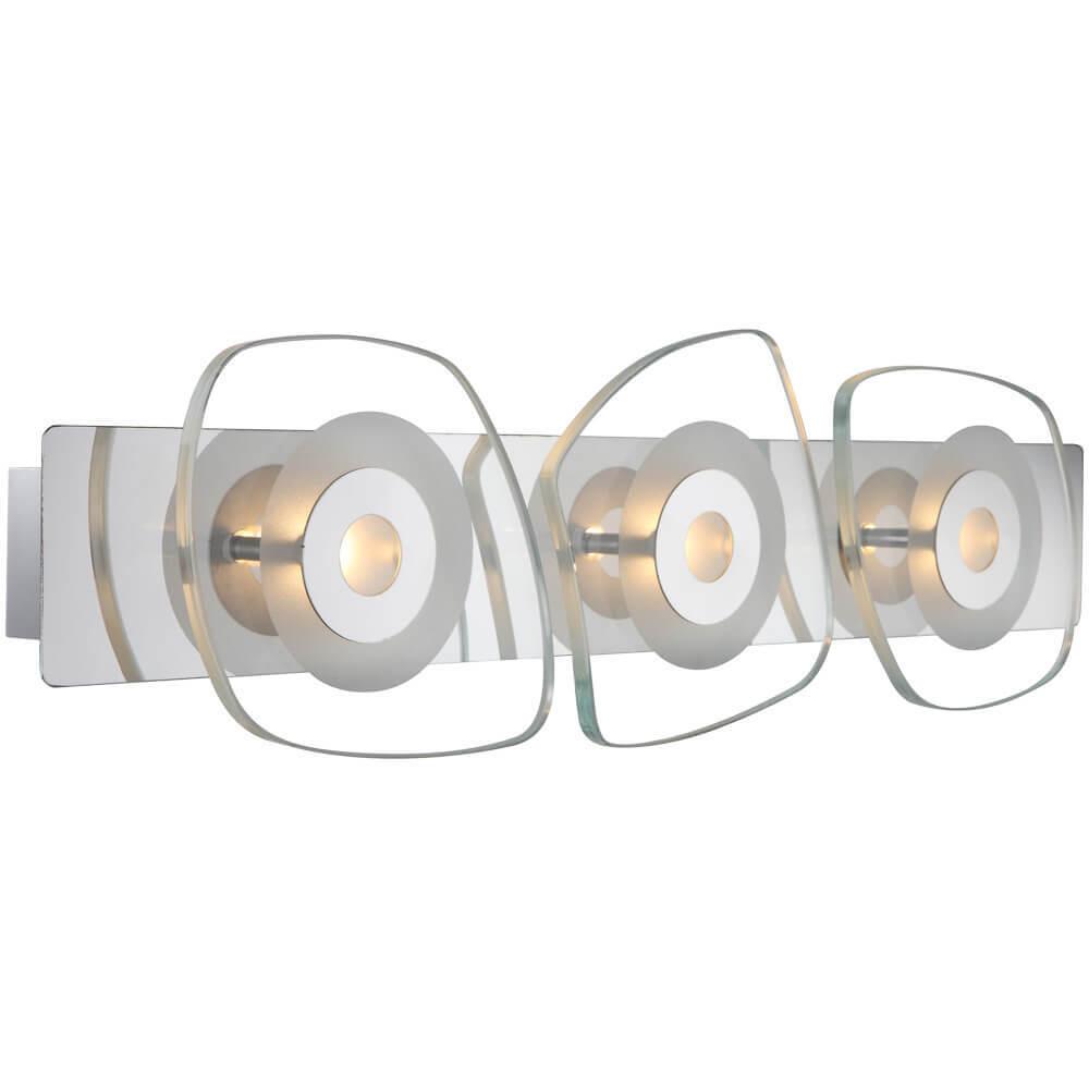 Настенный светодиодный светильник Globo Zarima 41710-3 настенный светильник бра коллекция amoena 56444 3 хром globo глобо