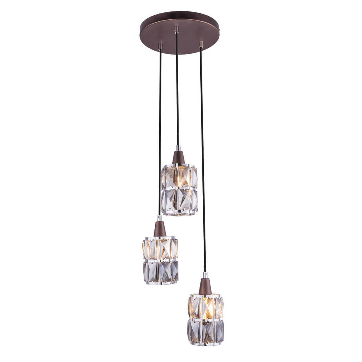 Светильник Globo 15761-3 Wolli подвесной светильник globo new 6905 3 бронза