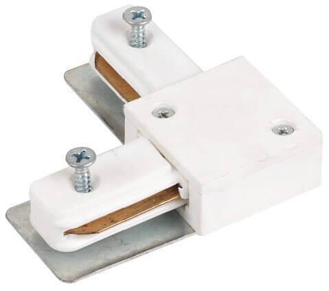 Коннектор для шинопровода Horoz белый 096-002-0002
