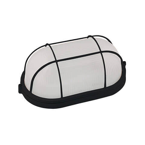 Пылевлагозащищенный светильник Horoz черный 070-013-0100 (HL921)