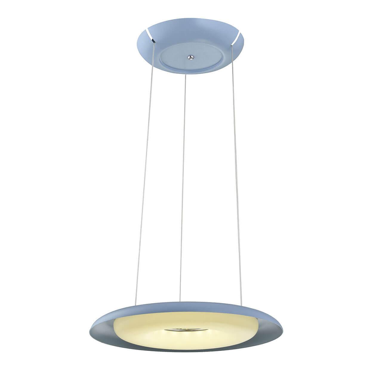 купить Подвесной светодиодный светильник Horoz Deluxe синий 019-012-0035 по цене 11384 рублей