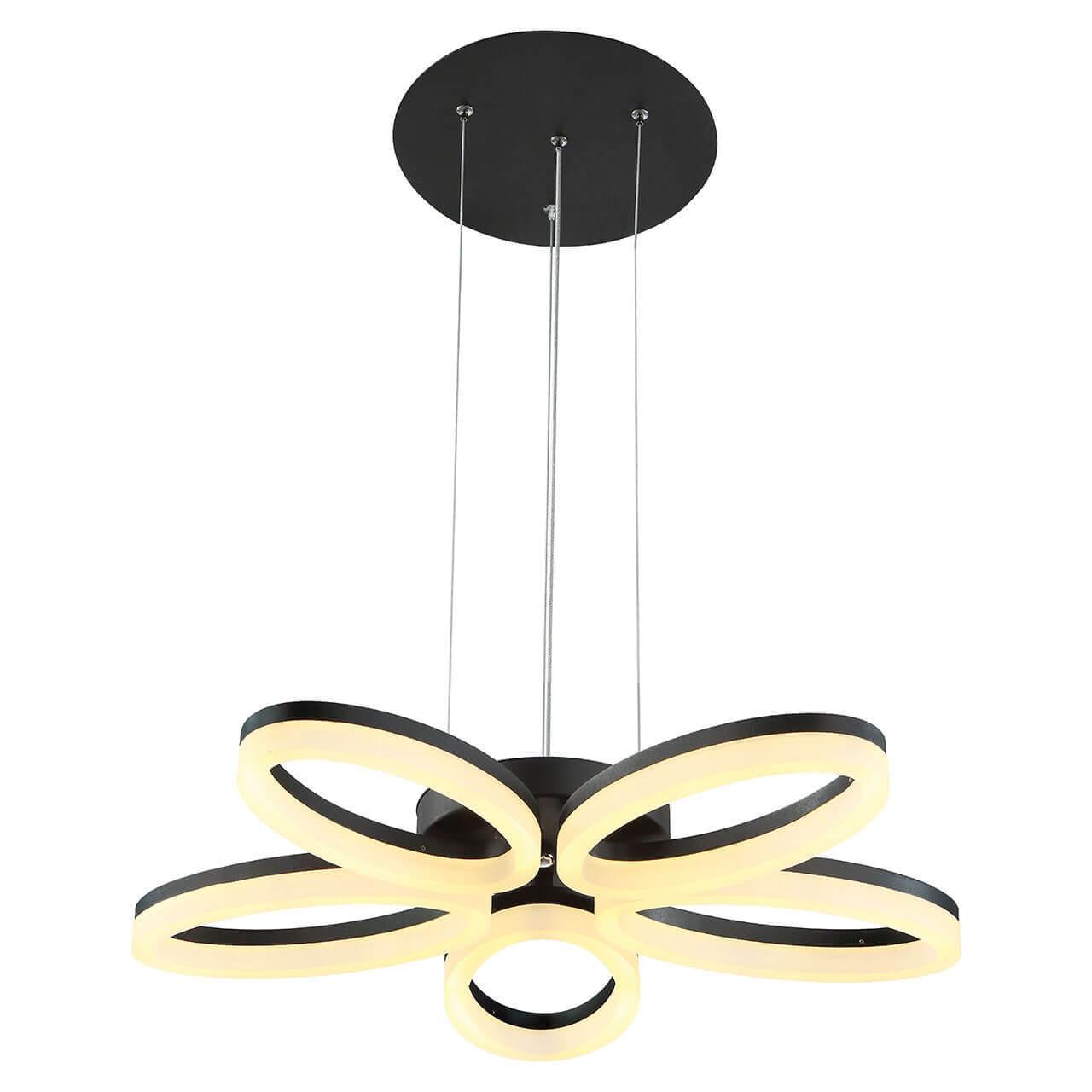 Подвесная светодиодная люстра Horoz черная 019-006-0040 подвесная светодиодная люстра horoz белая 019 006 0040