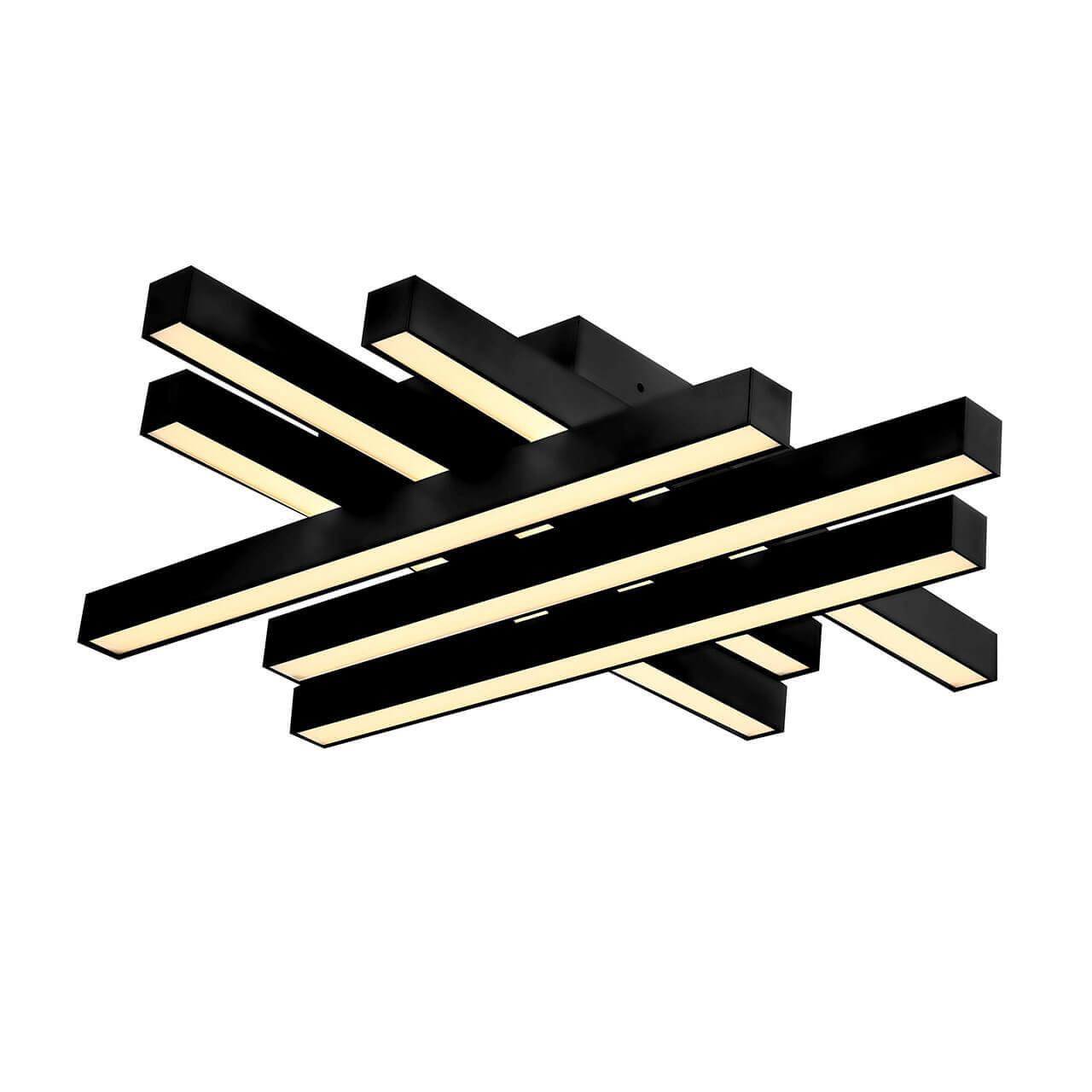 Потолочный светодиодный светильник Horoz Trend черный 019-009-0050 истинный цвет truecolor 0 5 мм черный нейтральный ручка для сердечника 20 коробка gr 009