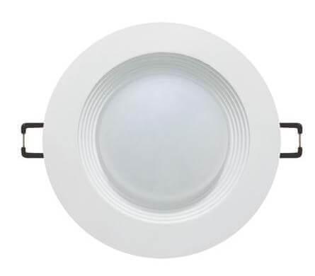 Встраиваемый светодиодный светильник Horoz 10W 3000К хром 016-017-0010 (HL6755L) цена