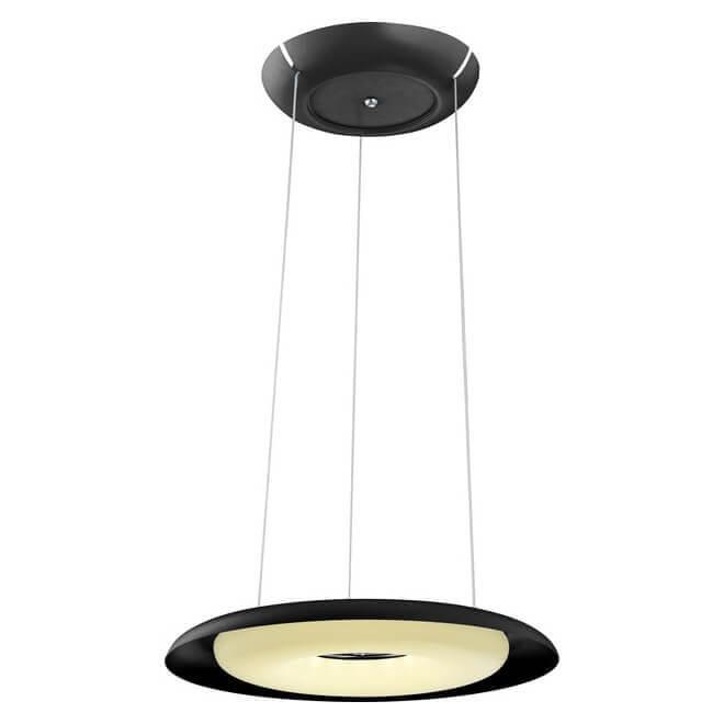 купить Подвесной светодиодный светильник Horoz Deluxe черный 019-012-0035 по цене 11384 рублей