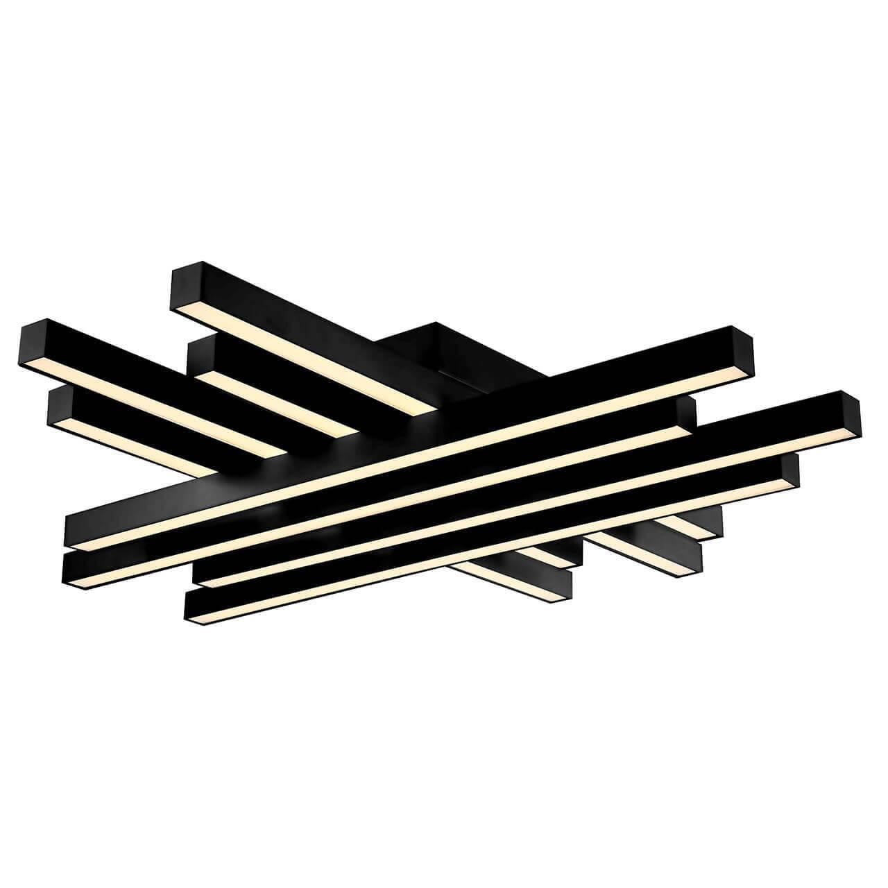 Потолочный светодиодный светильник Horoz Trend черный 019-009-0085 истинный цвет truecolor 0 5 мм черный нейтральный ручка для сердечника 20 коробка gr 009