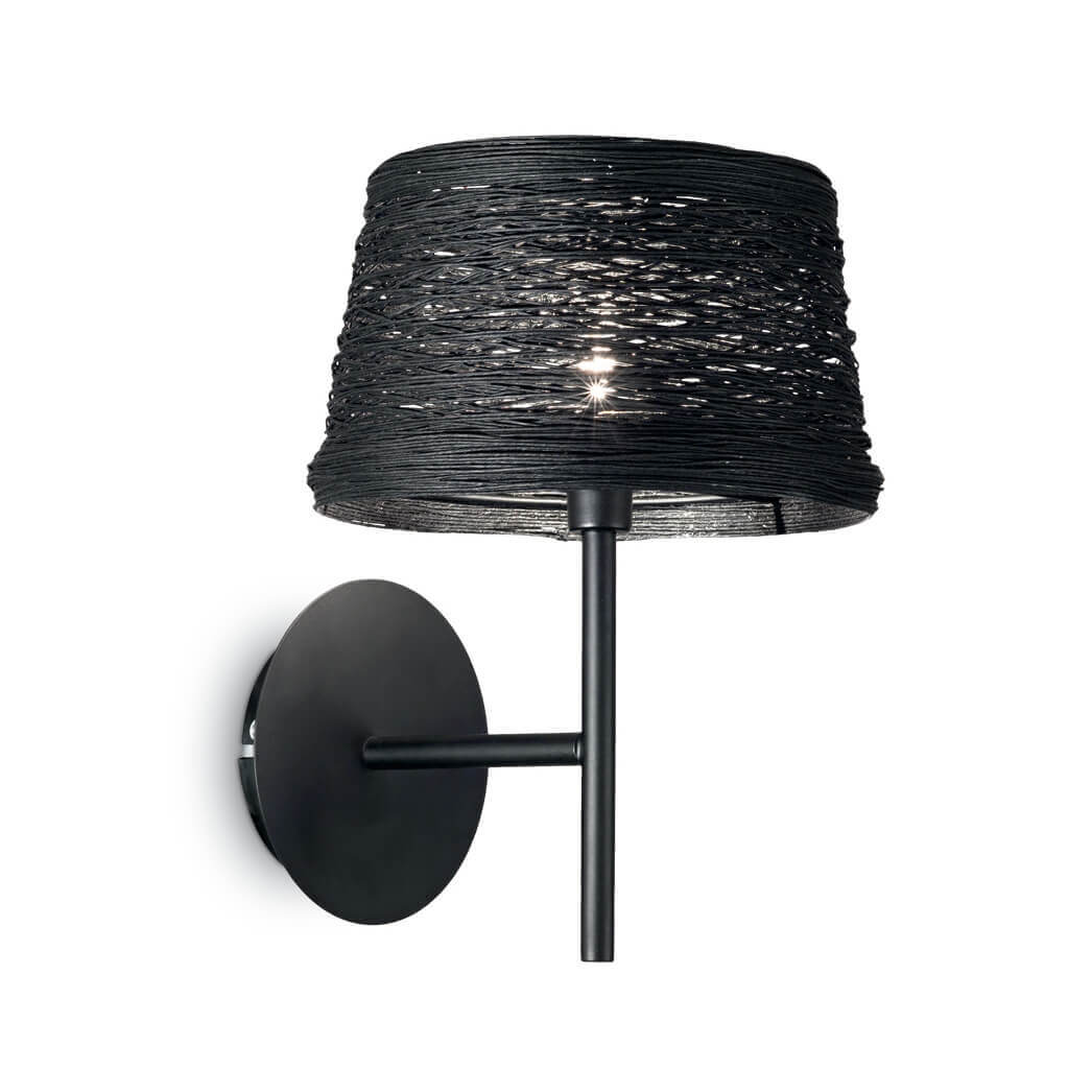 Бра Ideal Lux Basket AP1 Nero ideal lux бра ideal lux minimal ap1 nero