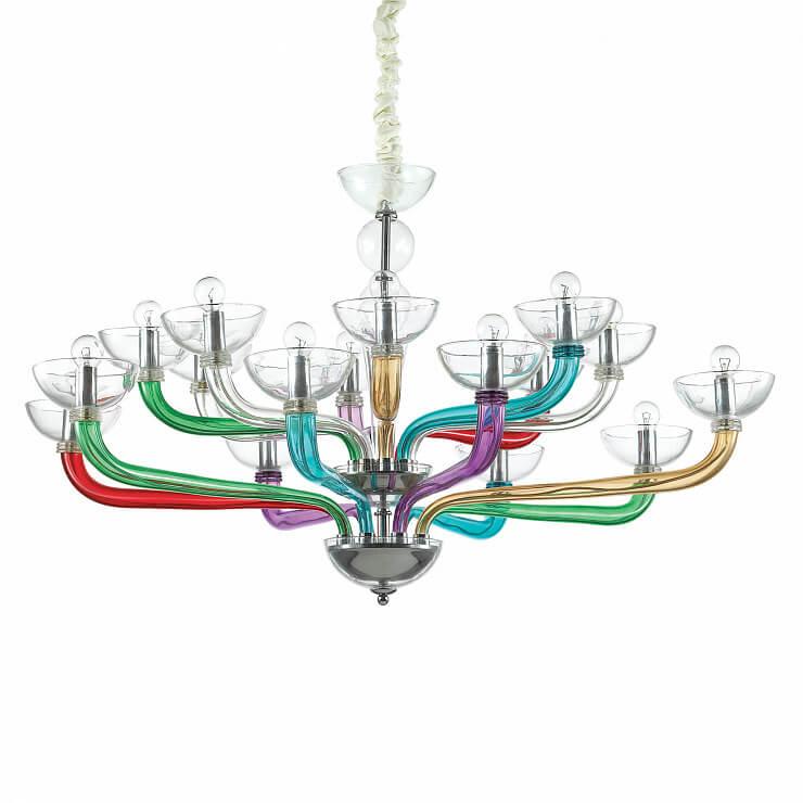 Подвесная люстра Ideal Lux Casanova SP16 Color цена