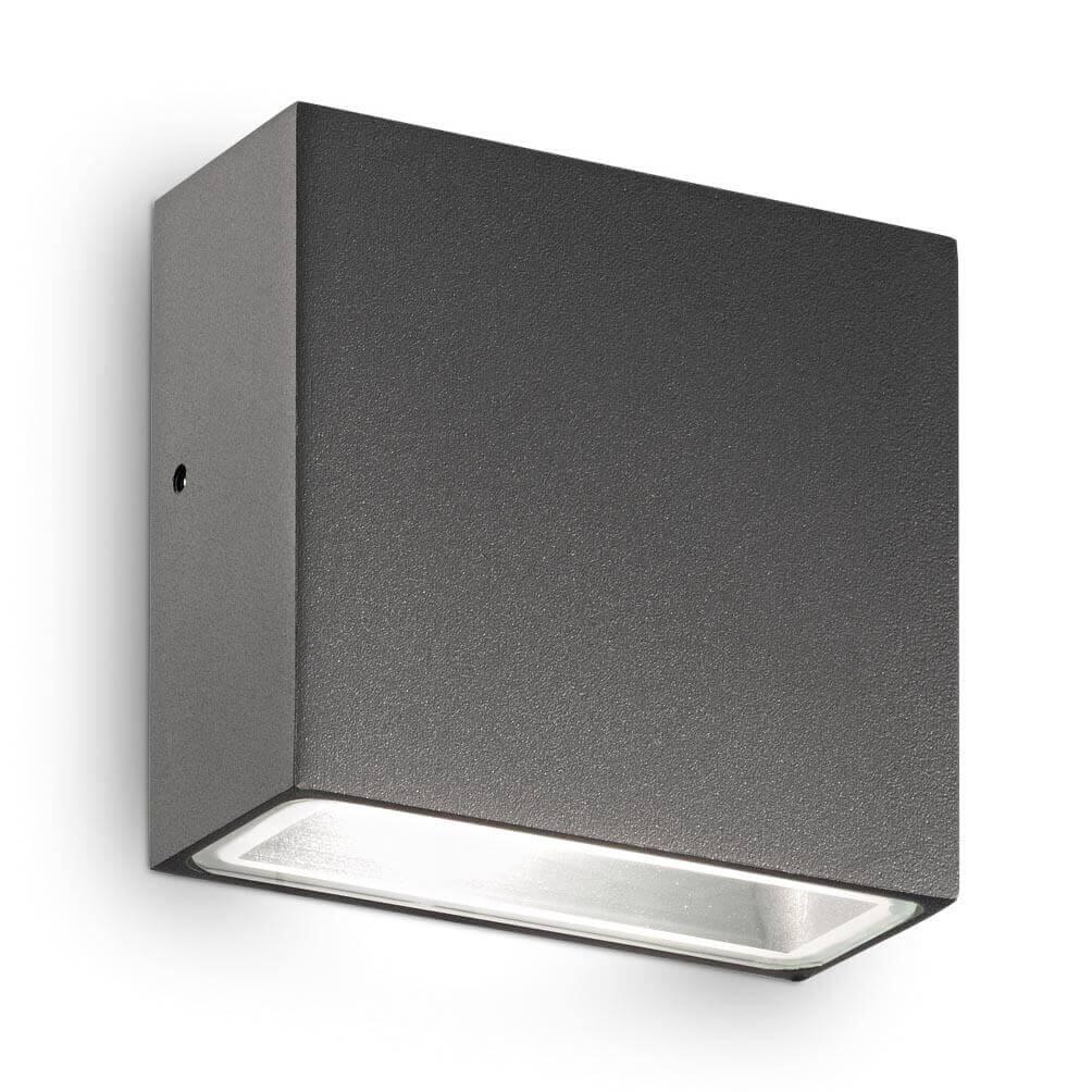 Уличный настенный светильник Ideal Lux Tetris-1 AP1 Antracite цена и фото