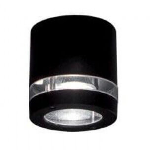 цена Светильник Ideal Lux PLutone AP1 Nero PLutone онлайн в 2017 году