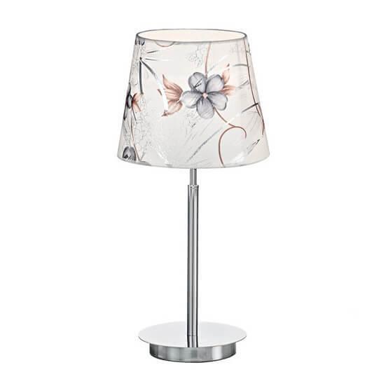 Настольная лампа Ideal Lux Orchidea TL1 BIg Ambra настольная лампа ideal lux london cromo tl1 big