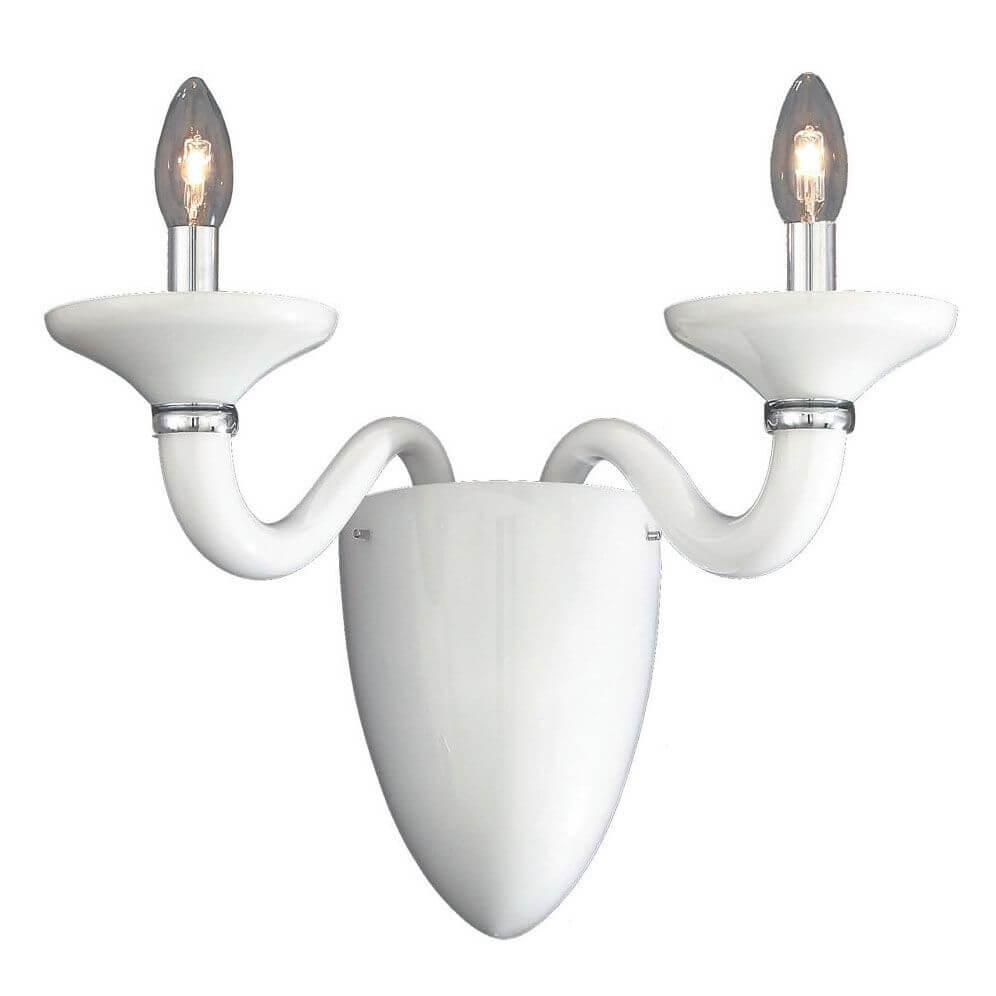 лучшая цена Бра Ideal Lux White Lady AP2