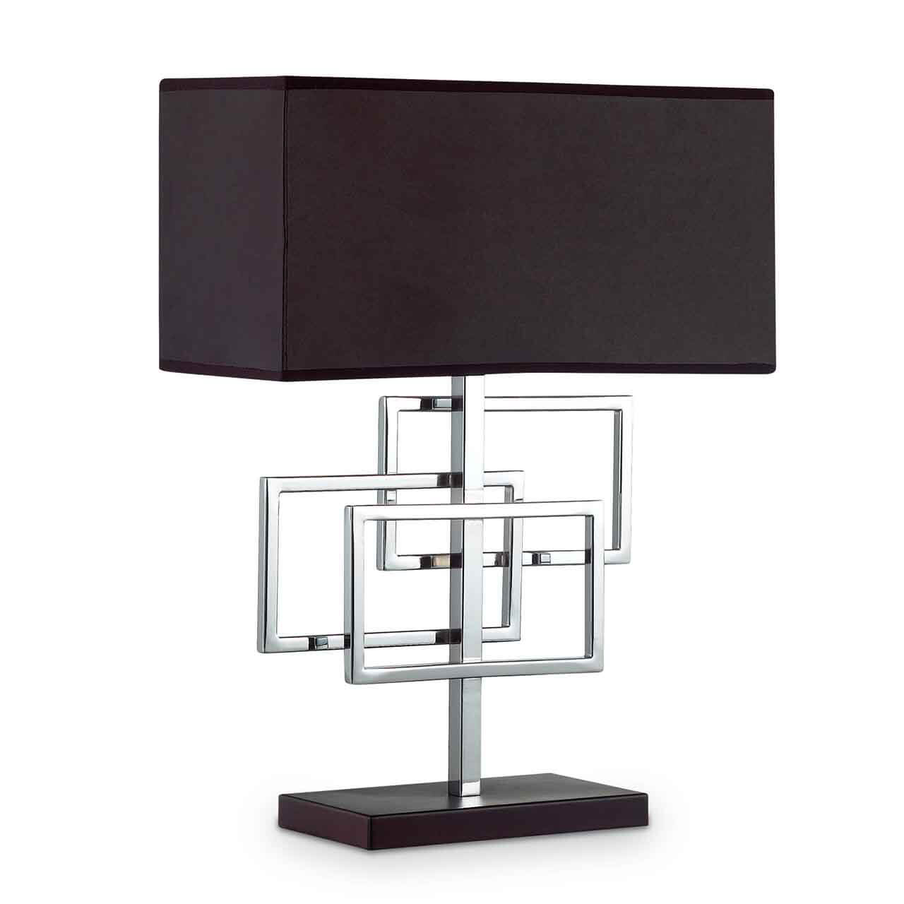 Настольная лампа Ideal Lux Luxury Tl1 Cromo настольная лампа ideal lux london cromo tl1 big
