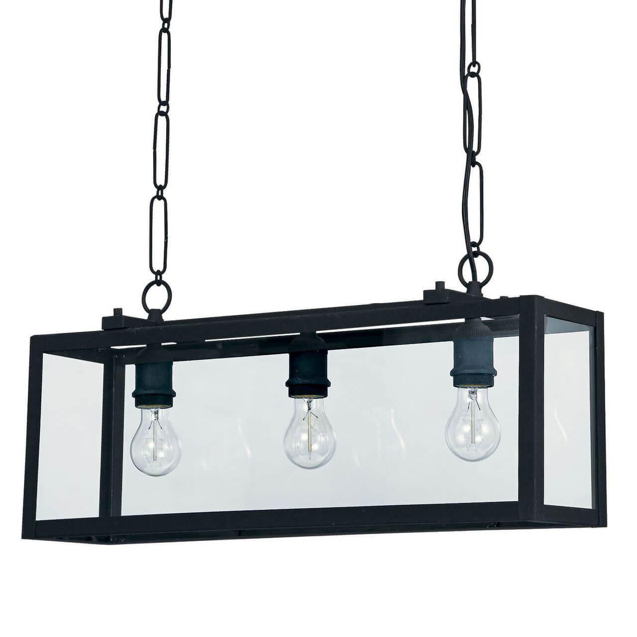 Подвесной светильник Ideal Lux Igor SP3 Nero цена в Москве и Питере