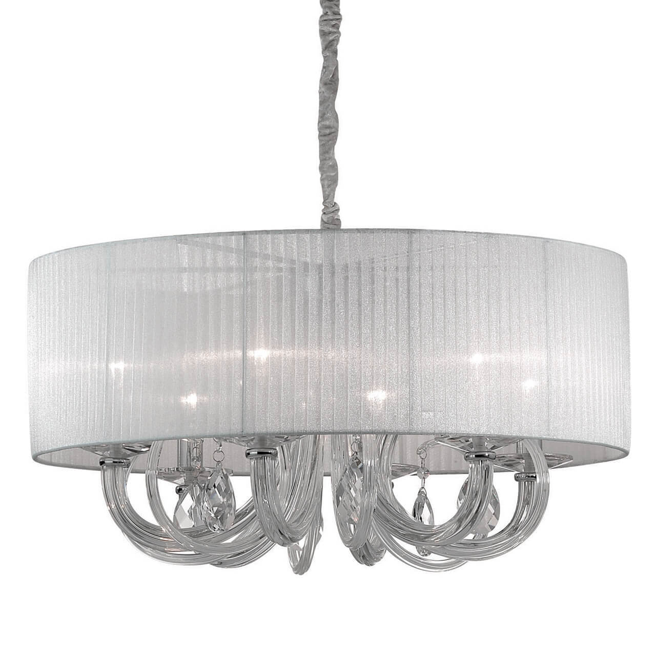 Люстра Ideal Lux Swan SP6 Bianco Swan фото