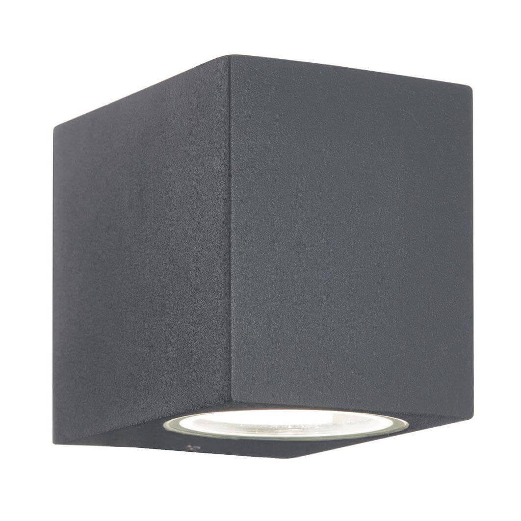 Уличный настенный светильник Ideal Lux Up AP1 Antracite цена и фото