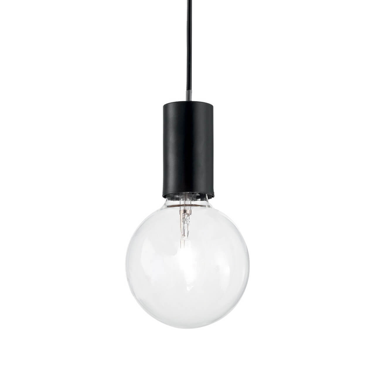 Светильник Ideal Lux Hugo Sp1 Hugo Nero подвесной светильник ideal lux wheel sp3 009681