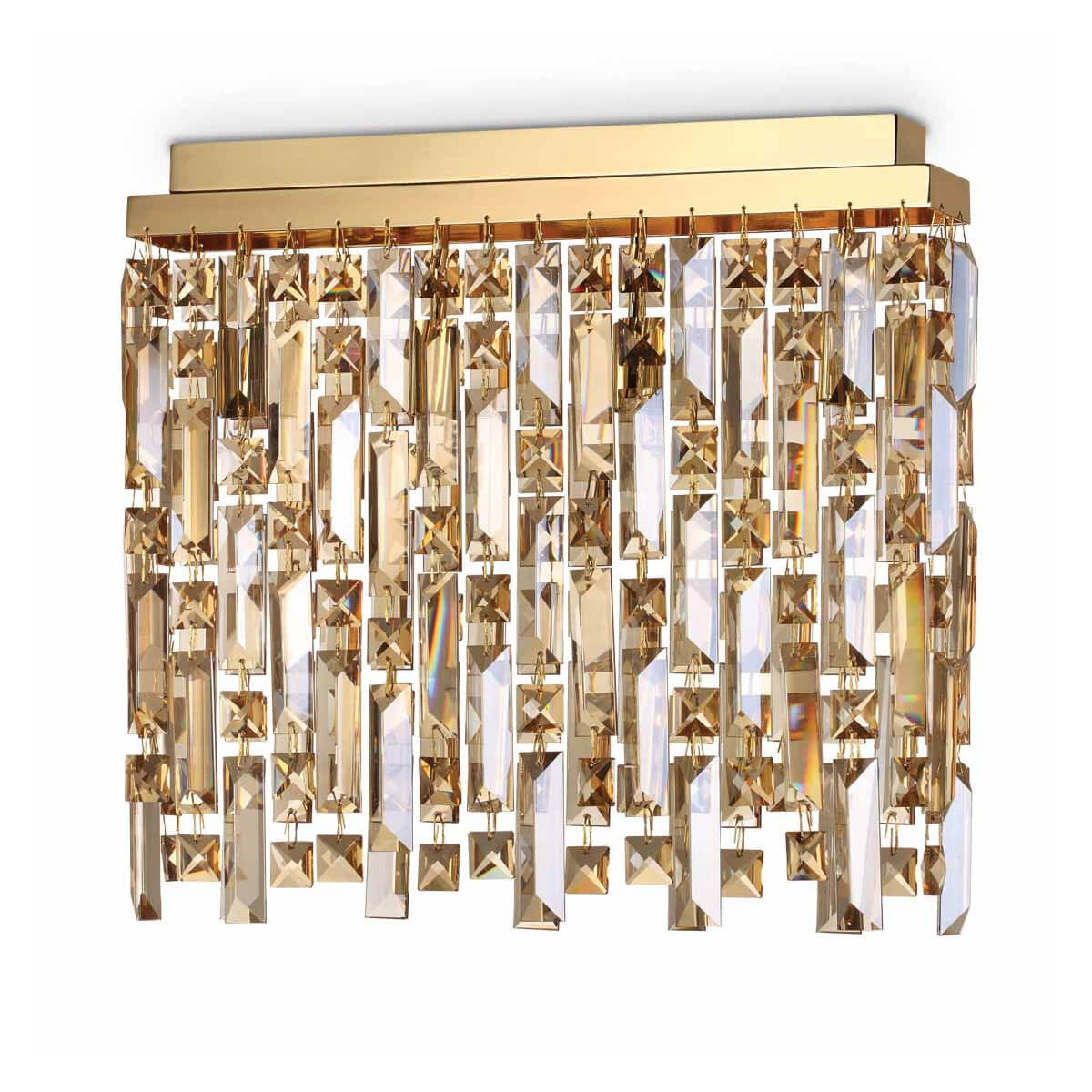 Потолочный светильник Ideal Lux Elisir PL4 Ottone