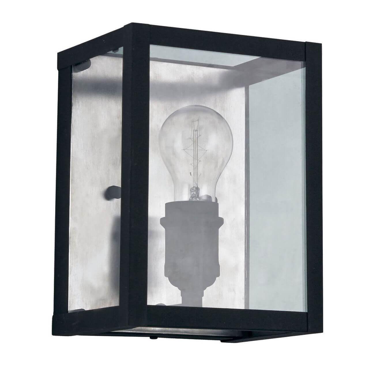 Настенный светильник Ideal Lux Igor AP1 Nero цена в Москве и Питере