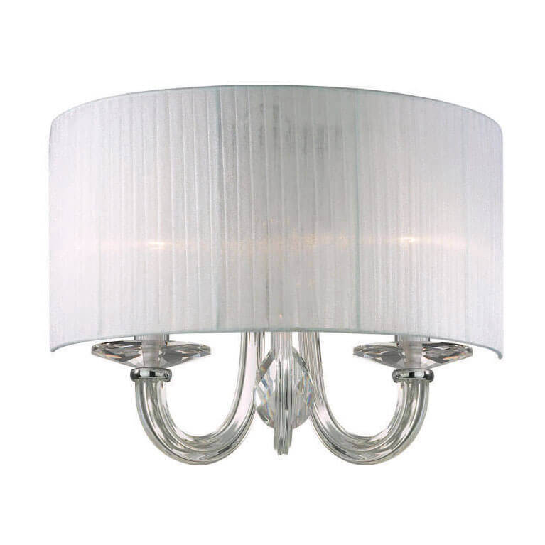 Бра Ideal Lux Swan AP2 Bianco