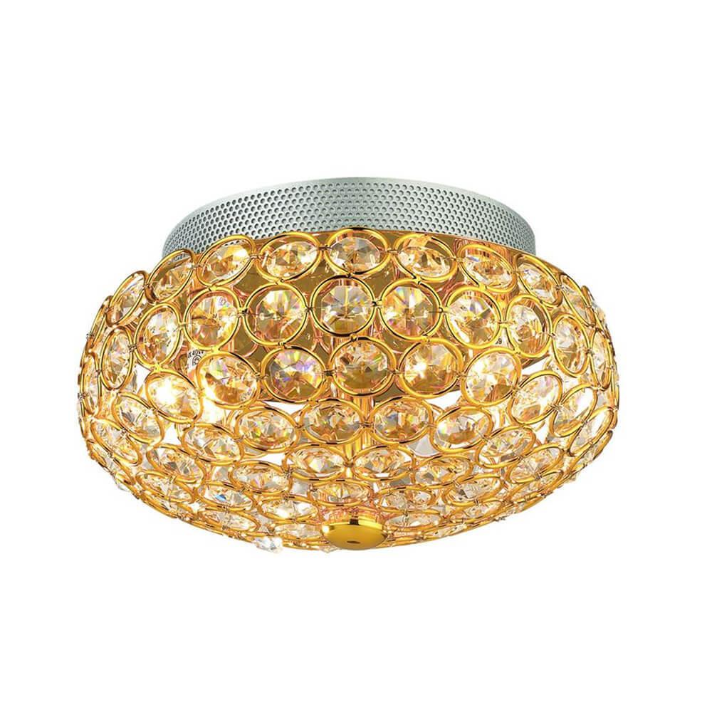 Светильник Ideal Lux King PL3 Oro King Oro светильник потолочный ideal lux harem harem pl3