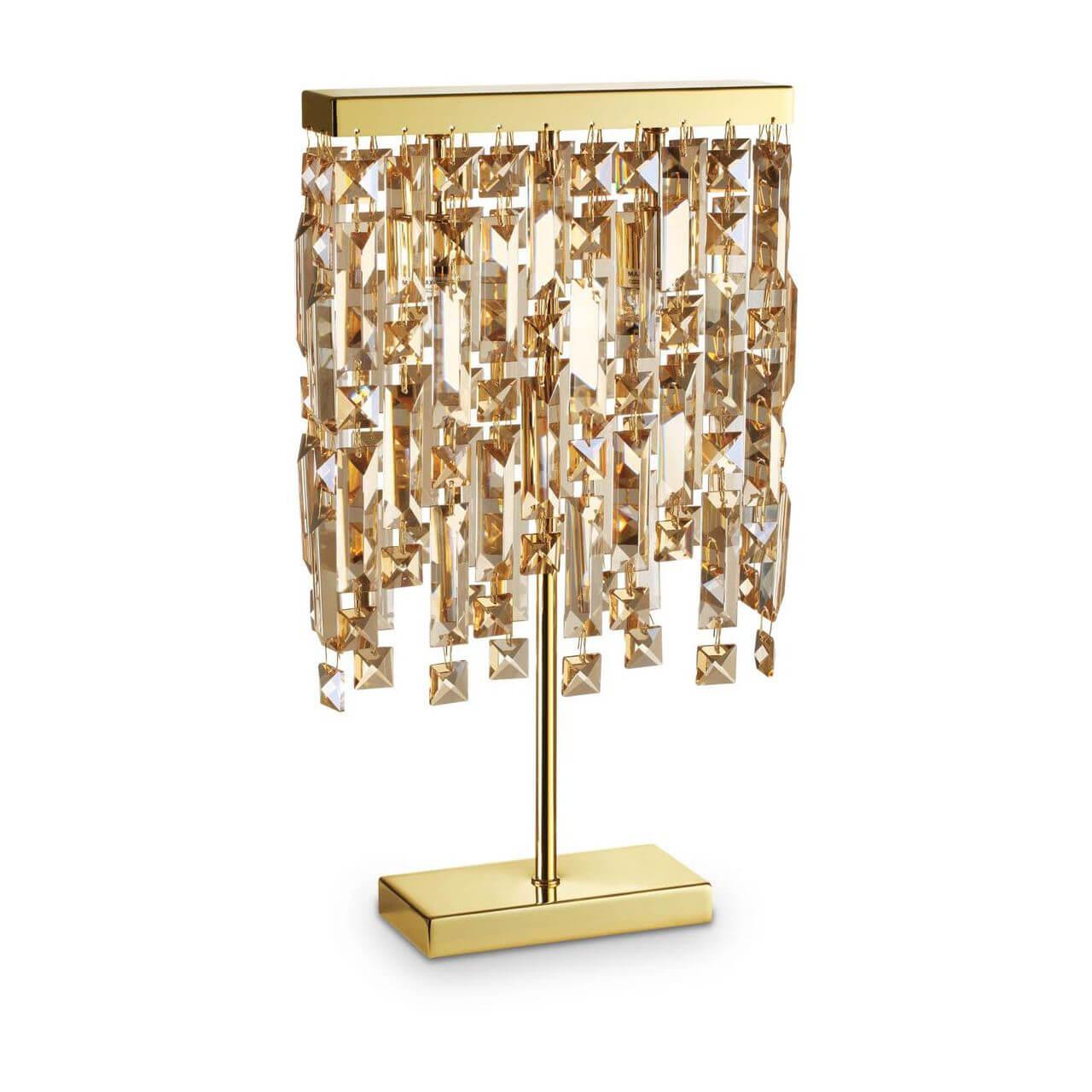 Настольная лампа Ideal Lux Elisir TL2 Ottone цена