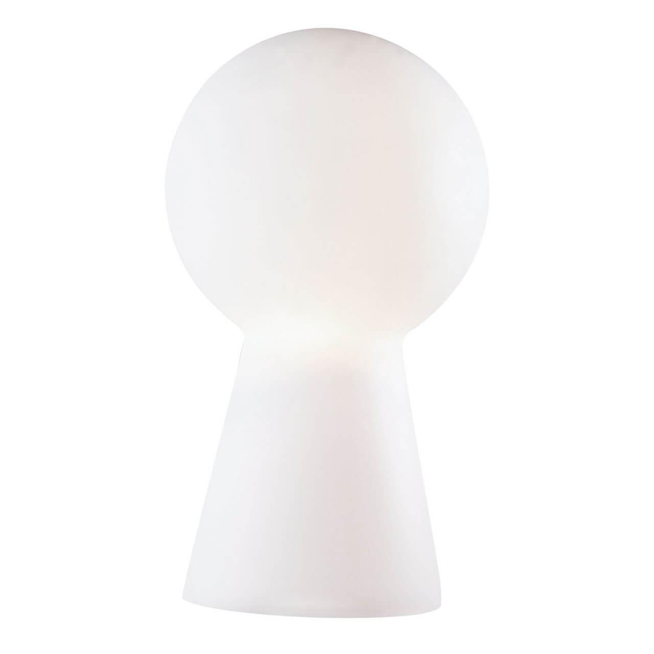 Настольная лампа Ideal Lux Birillo TL1 Small Bianco настольная лампа ideal lux london cromo tl1 big