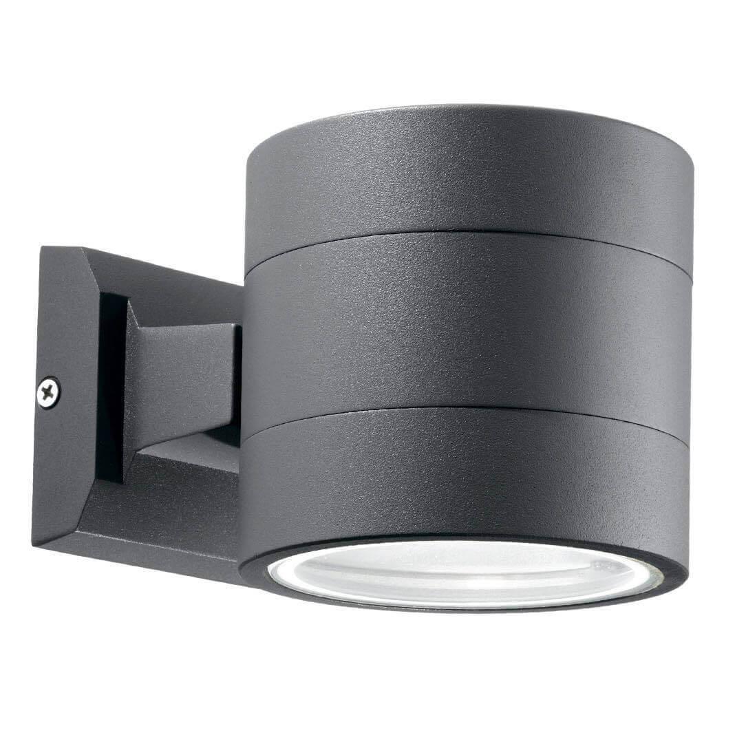 Уличный настенный светильник Ideal Lux Snif Round AP1 Antracite цена