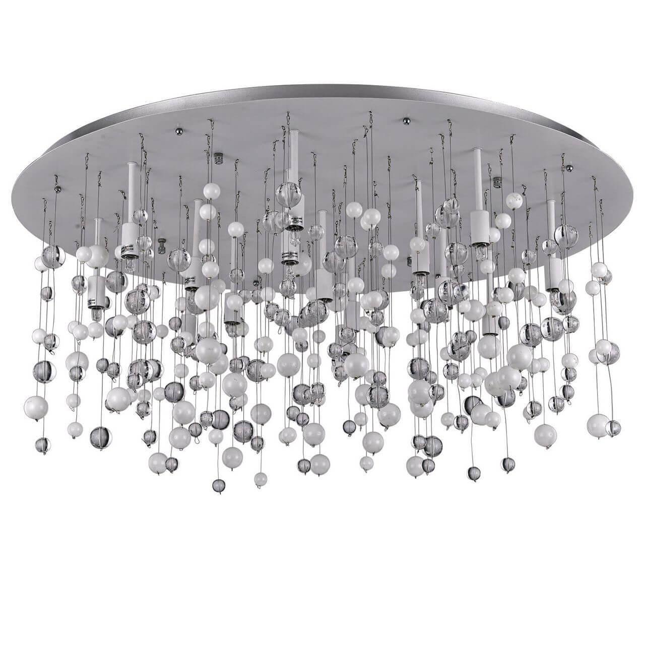 потолочный светильник ideal lux neve pl12 bianco idlx 101187 Светильник Ideal Lux Neve PL15 Bianco Neve Bianco