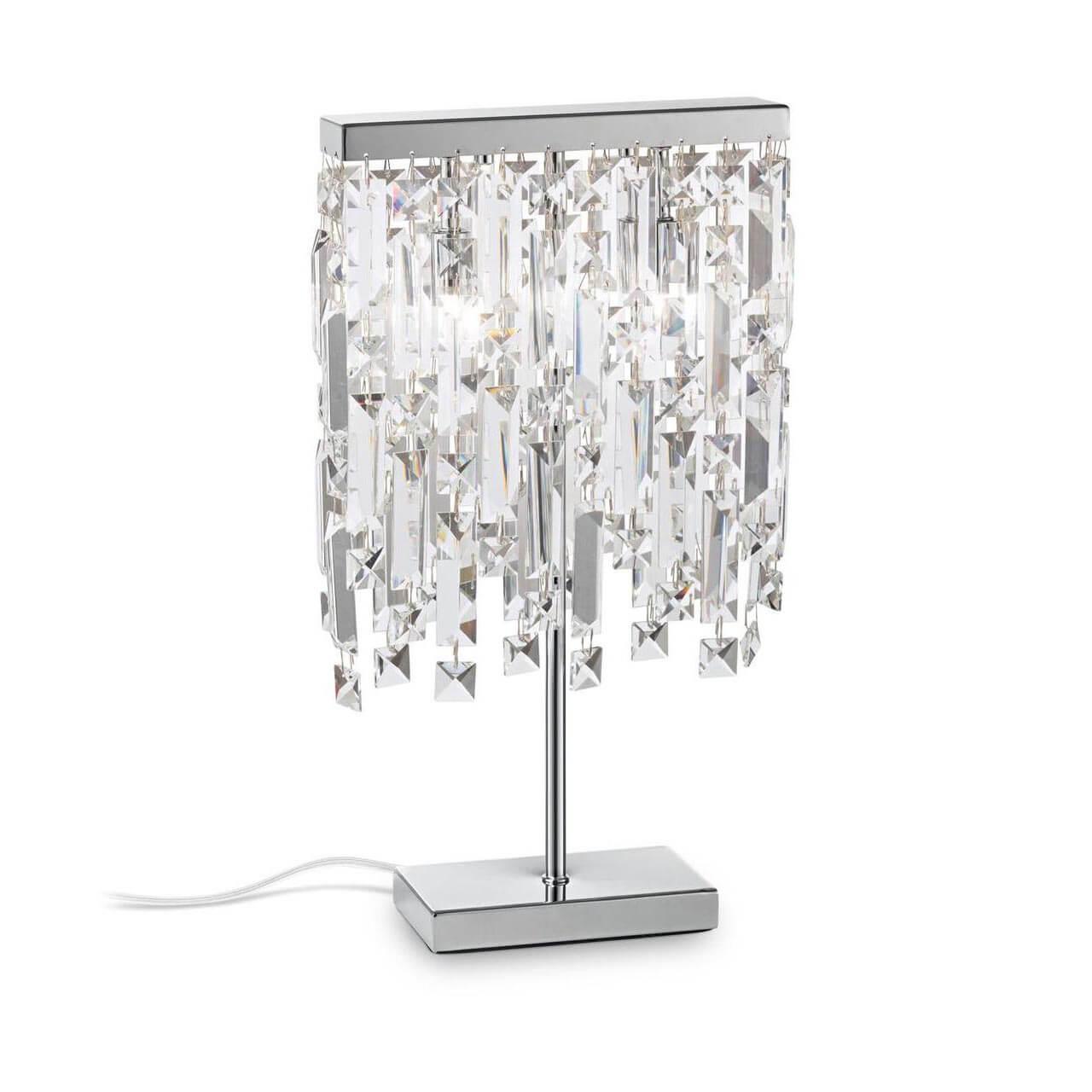 Настольная лампа Ideal Lux Elisir TL2 Cromo цена