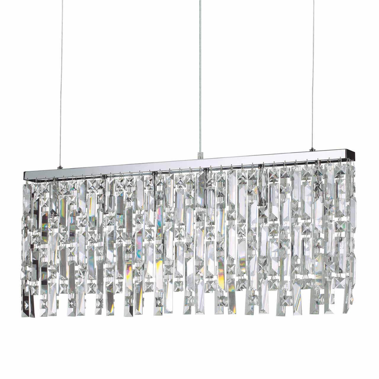 Подвесной светильник Ideal Lux Elisir SP6 Cromo