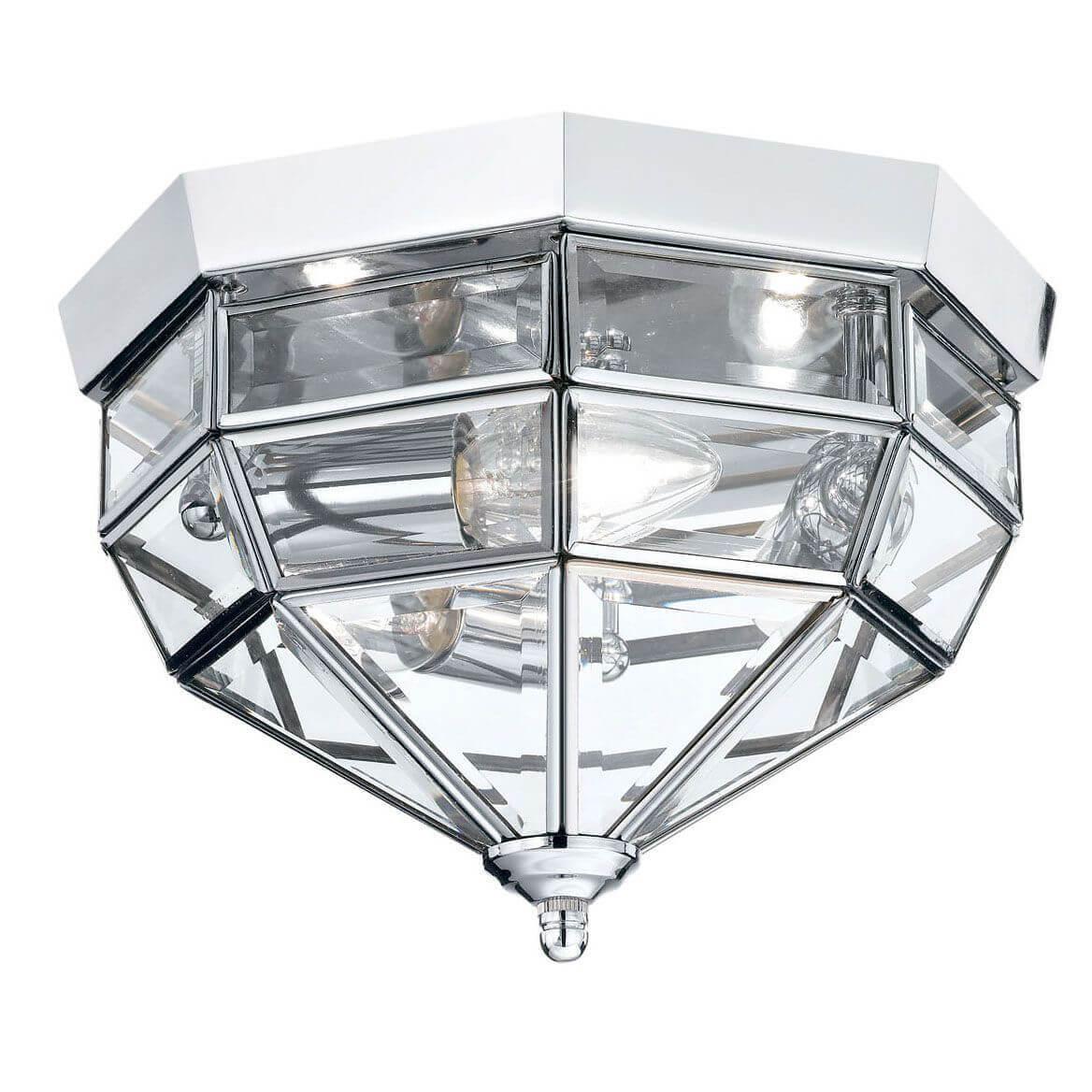 Потолочный светильник Ideal Lux Norma PL3 Cromo светильник потолочный ideal lux harem harem pl3