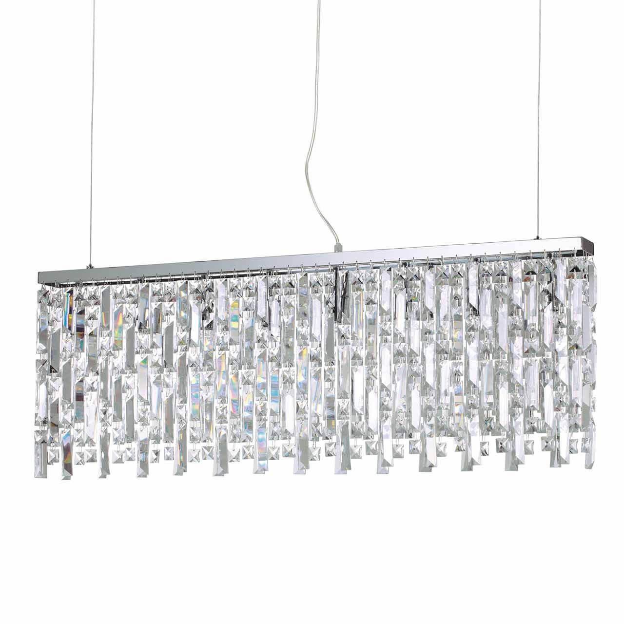 Подвесной светильник Ideal Lux Elisir SP8 Cromo