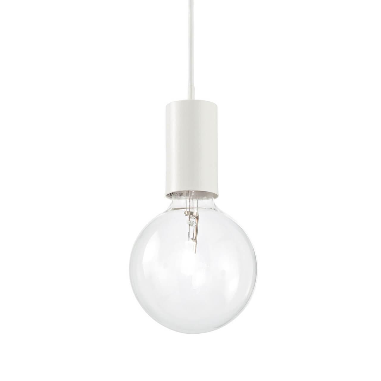 Подвесной светильник Ideal Lux Hugo SP1 Bianco подвесной светильник ideal lux lido 3 sp1 bianco