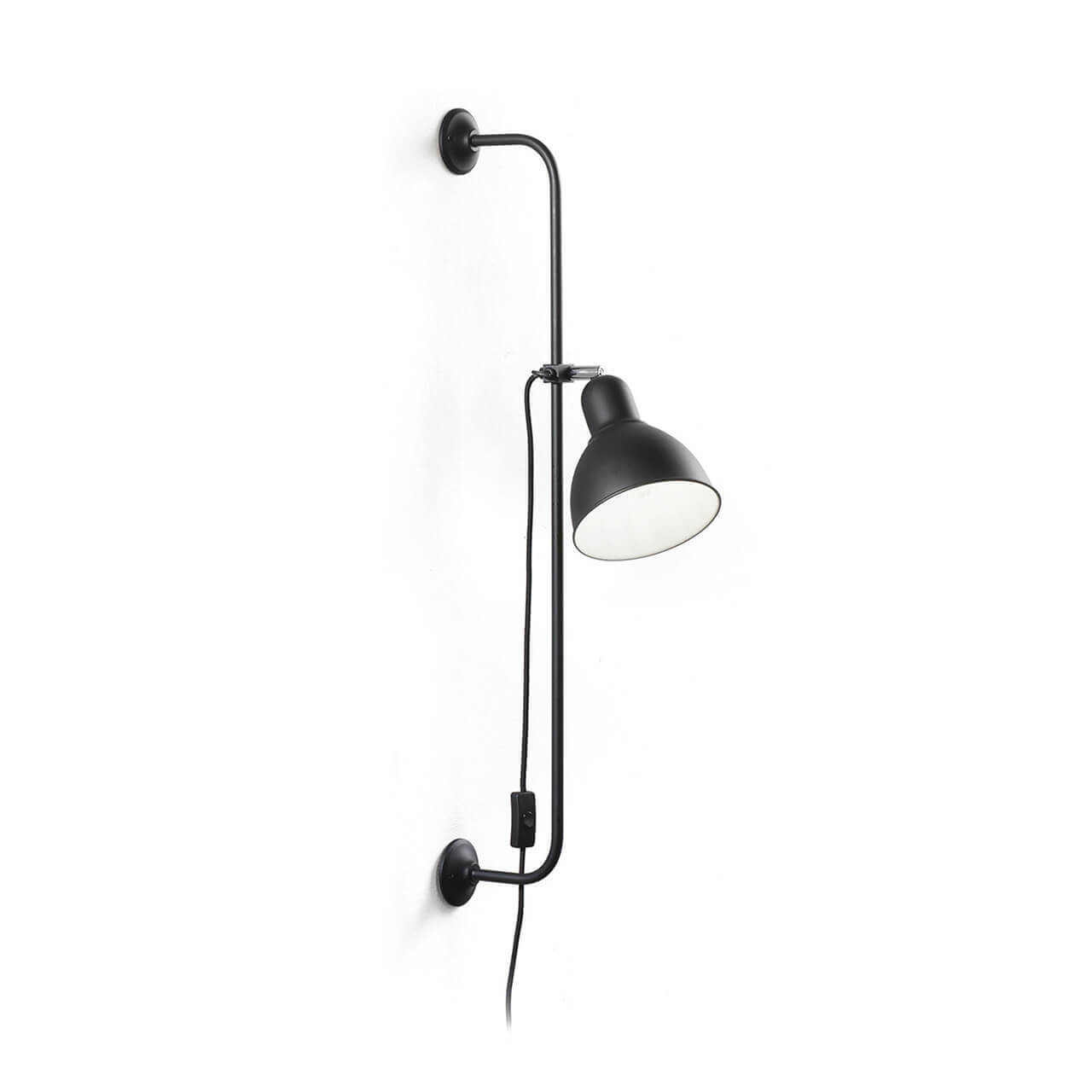 Спот Ideal Lux Shower AP1 Nero Shower спот ideal lux page ap round nero page round nero