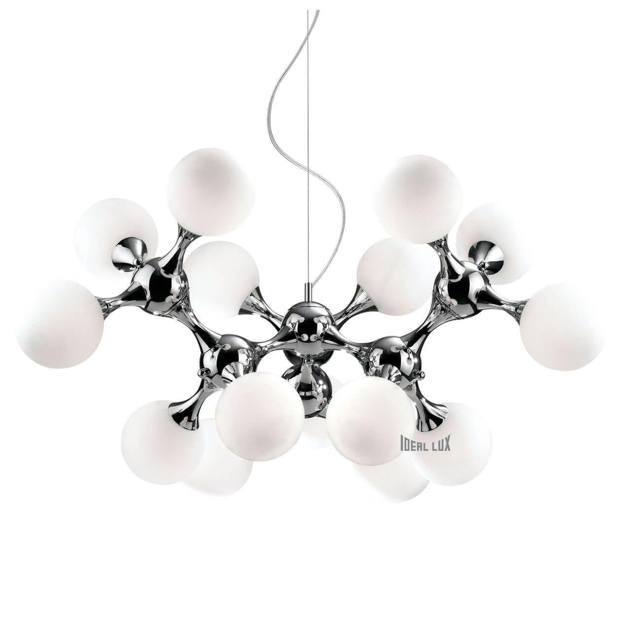 Подвесная люстра Ideal Lux Nodi Bianco SP15 ideal lux подвесная люстра colossal sp15 trasparente
