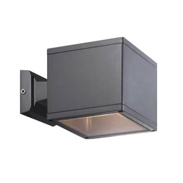 Уличный настенный светильник Ideal Lux Job AP1 BIg Antracite цена и фото