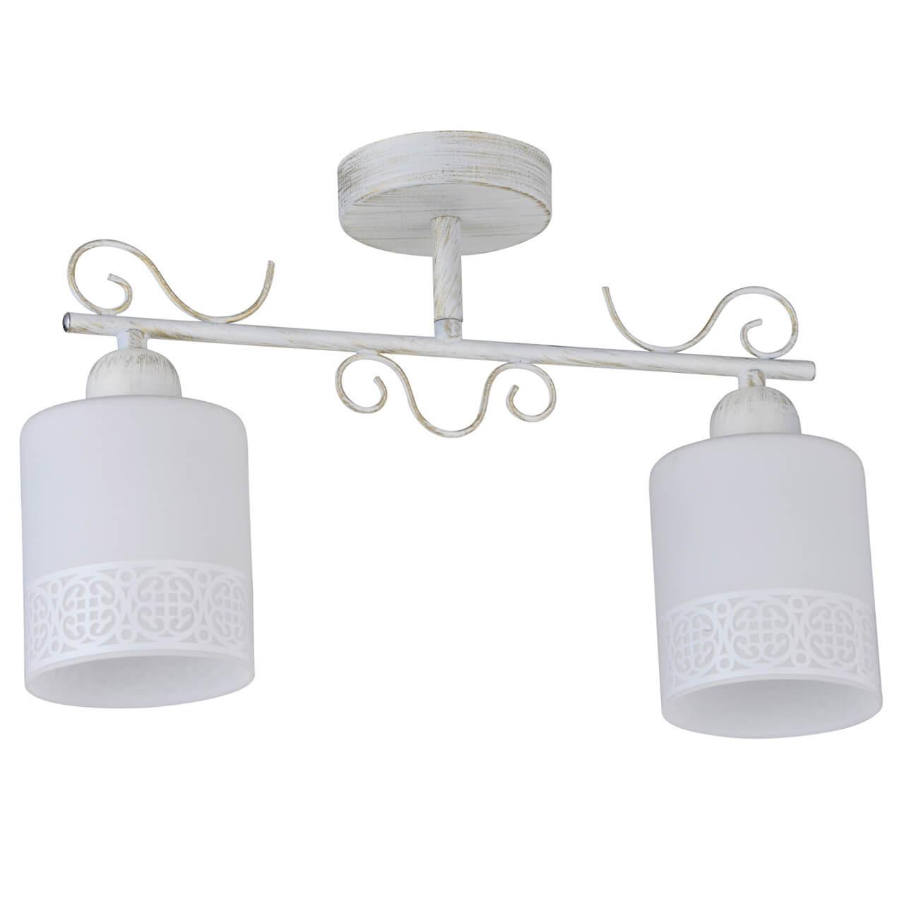 Потолочный светильник IDLamp Ileria 848/2PF-Whitepatina потолочный светильник idlamp 299 4pf whitepatina белый