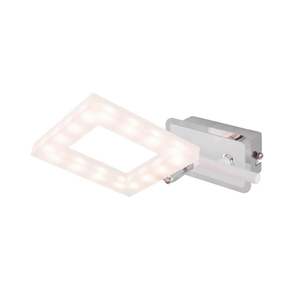 Светодиодный спот IDLamp Piazza 106/1A-LEDWhite бра idlamp piazza 106 1a ledwhitechrome