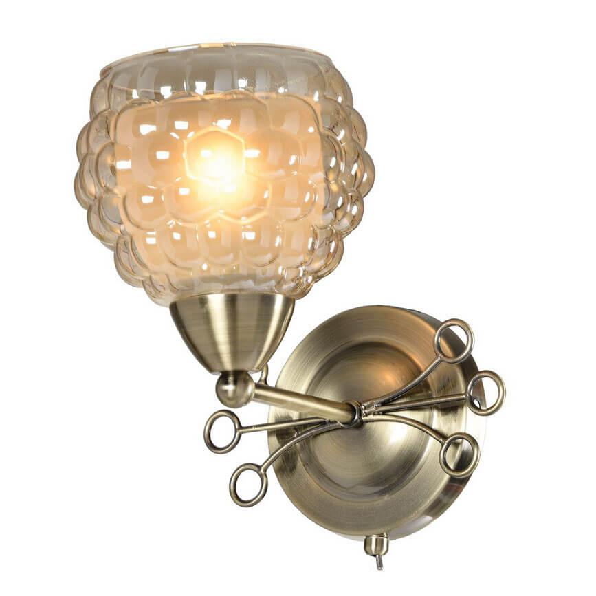 Бра IDLamp Verity 286/1A-Oldbronze idlamp бра idlamp gabriella 912 1a oldbronze