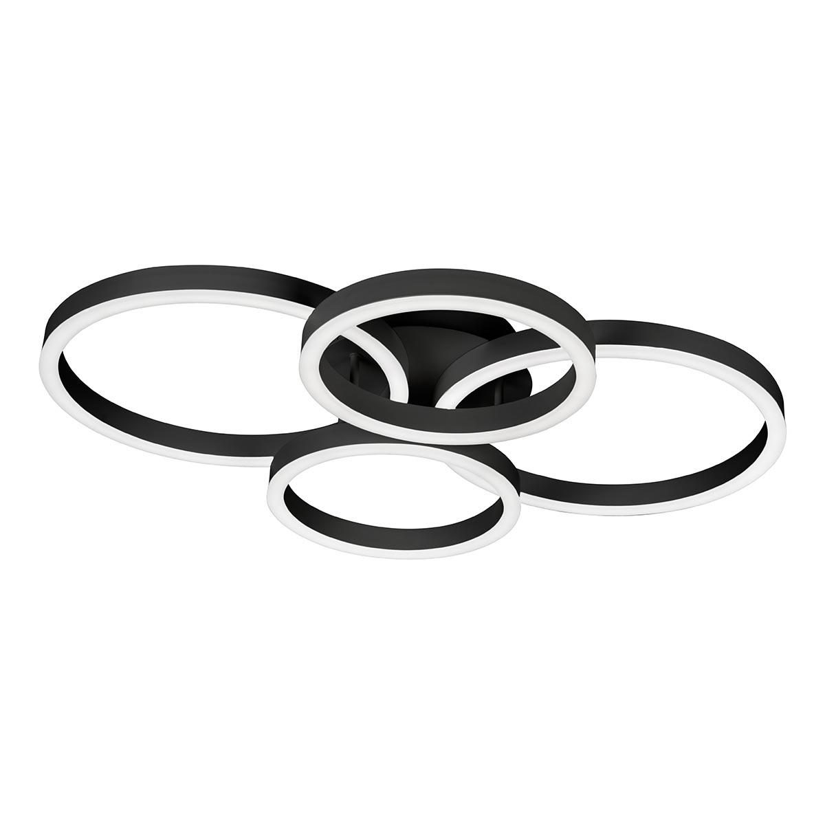 Люстра iLedex 6815-300/400-X-T BK Ring-New