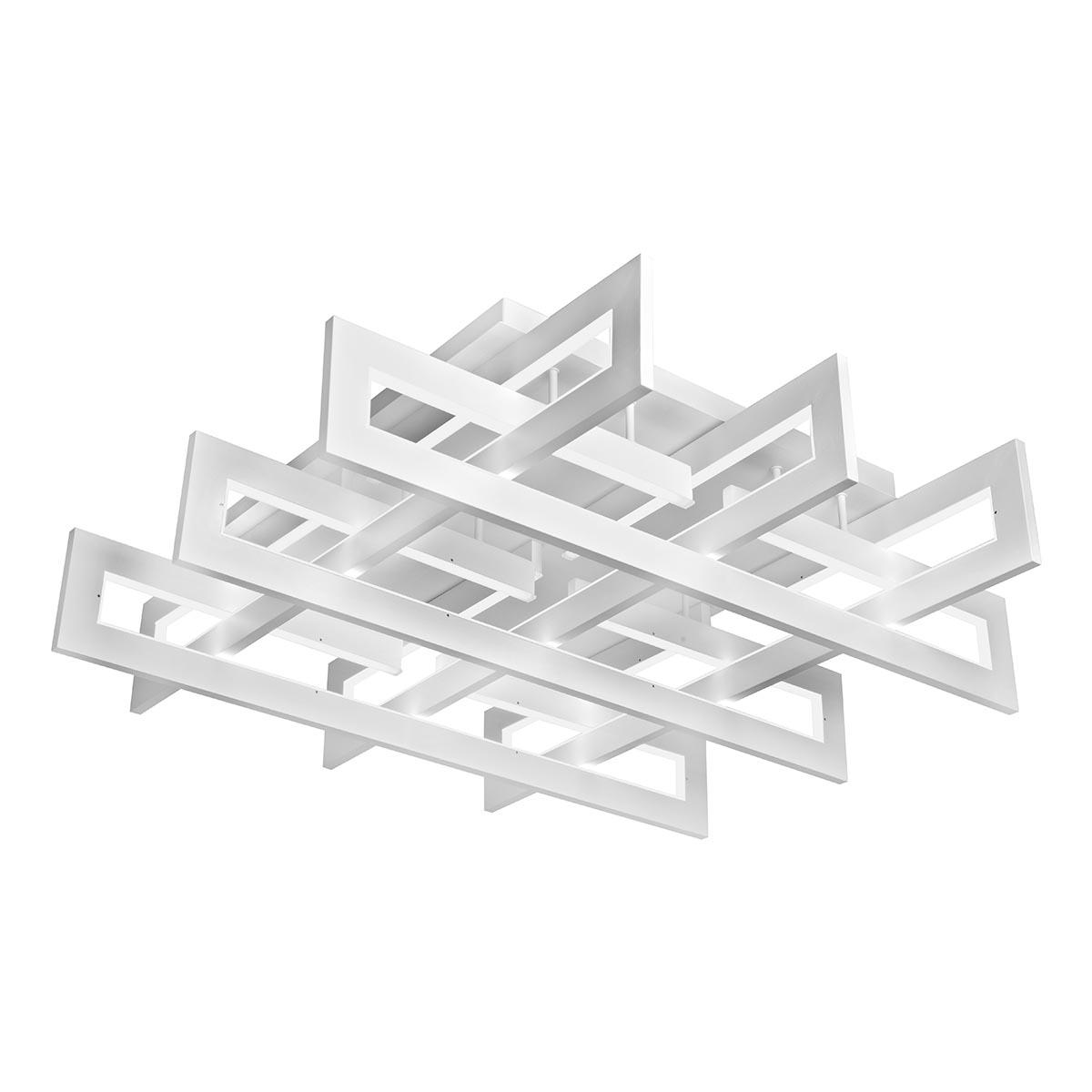 Светильник iLedex 9082-800*800-X 192W WH Stalker