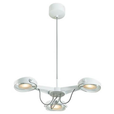 Подвесная светодиодная люстра Italline SLD 075P3 white цена и фото