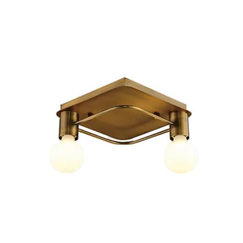 Люстра Italline Vega PL 6088/2 bronze Vega