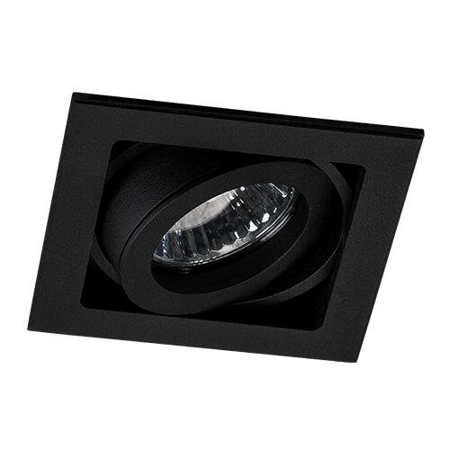 Встраиваемый светильник Italline QANA 1L black italline qana 1xs alu