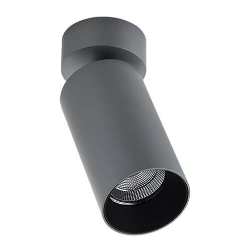 Светодиодный спот Italline Danny mini air grey/black сменное кольцо italline danny miny air ring danny mini gold