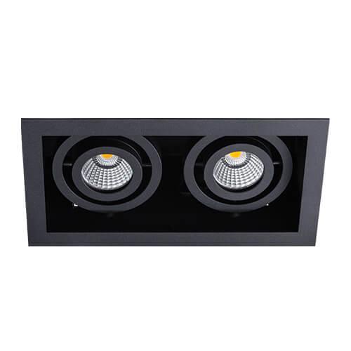 цена на Встраиваемый светодиодный светильник Italline DL 3015 black