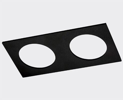Рамка декоративная Italline Solo SP 02 black italline fashion 2 black