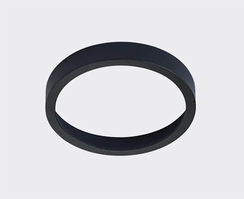 Кольцо декоративное Italline Solo SP Ring Black italline fashion 2 black