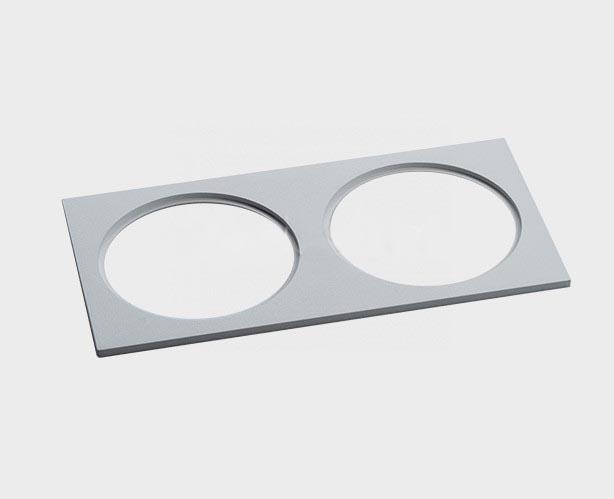 Рамка Italline IT06-6016 white FR2 IT06